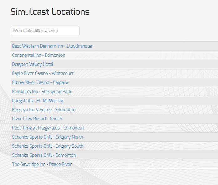 HRA - Simulcast Locations