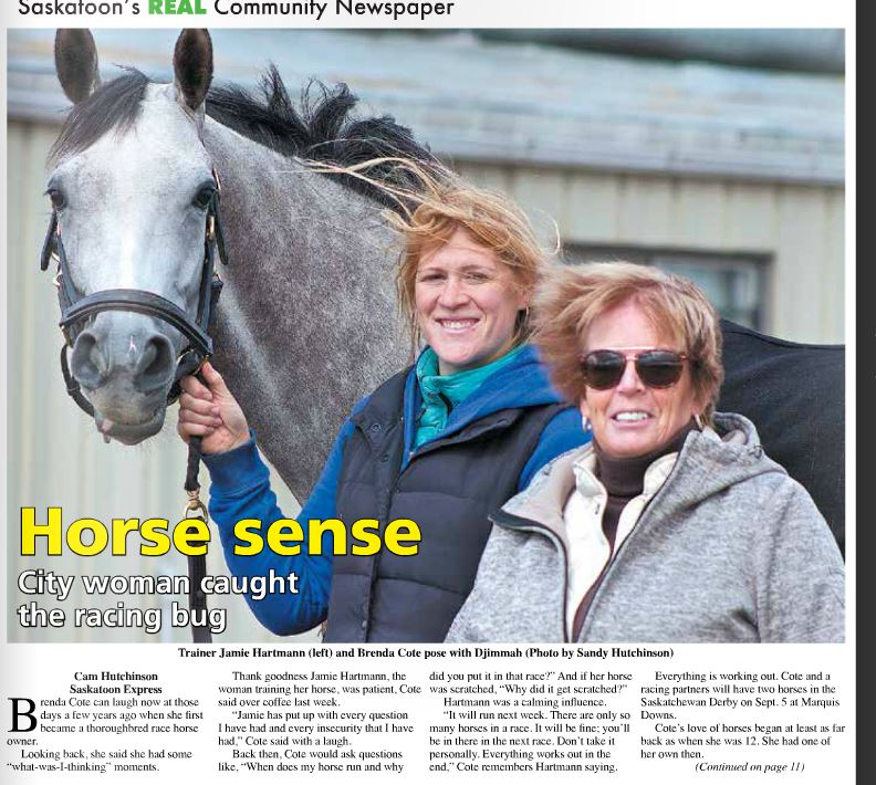 Saskatoon Express - Horse Sense