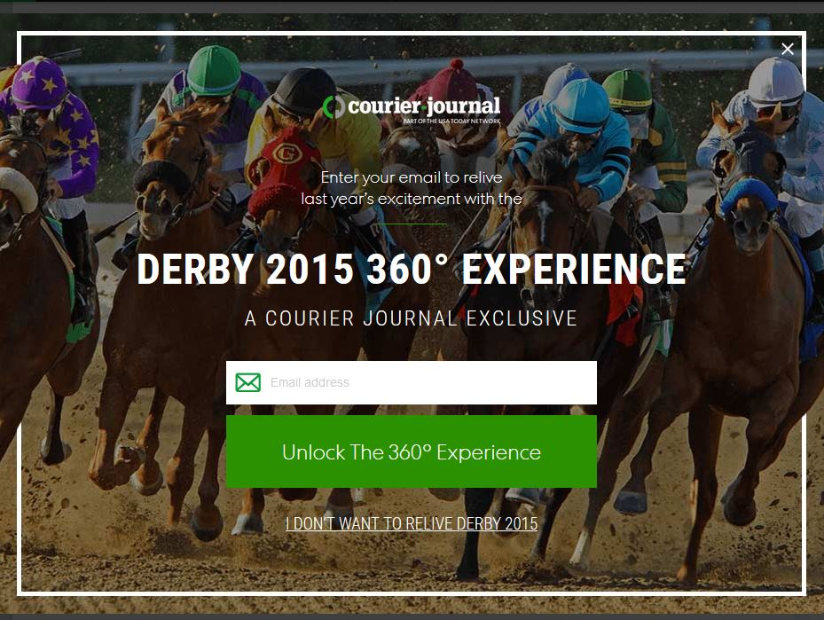 2105 Derby Experience